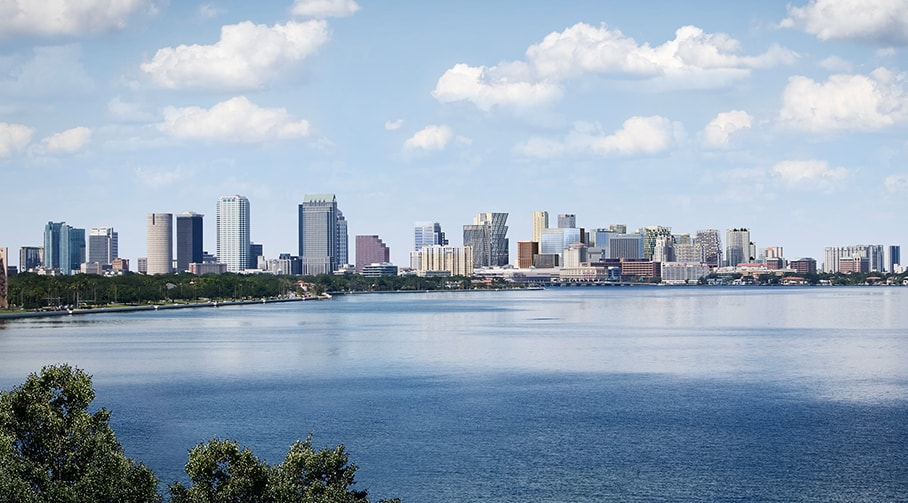 Tampa City After Image